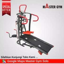 TREADMILL MANUAL - Grosir Alat Fitness - Master Gym Store !! MG#9525