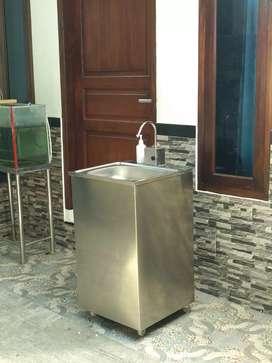 Wastafel Portable Otomatis