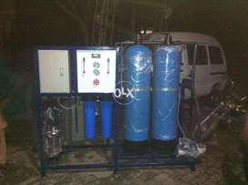 Mineral Water RO Plant Complete Set Up with Filling Unit