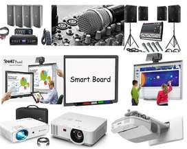 """Smart Board Interactive Board 87""""  