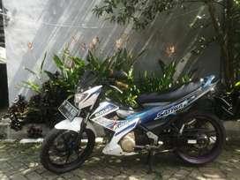 Satria Fu 2013 siap gas