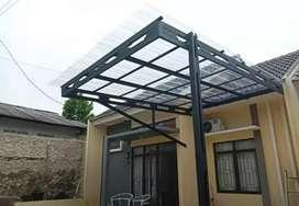 Kanopi baja ringan atap transparan yang mewah dan elegan