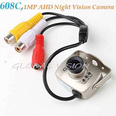 Mini Wired Small Network Video Audio Color  Home Security Camera 0