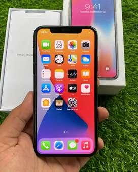 iPhone , IPhone X 64Gb Space Grey Elegant Fullset Terawat No Face Id