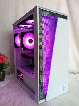 Gaming Grafis PC Server Ryzen 7  16 CPU GTX 1650 SUPER 4GB DDR6 RGB