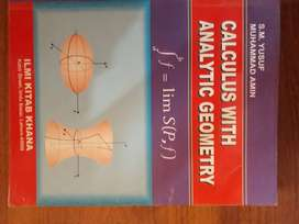 Calculus with analytic geometry by S.M Yusuf &Muhammad Amin