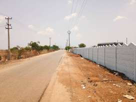 501 Sqft Best investment plan in low cost open Plot in Srisailam HWY