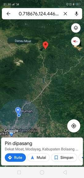 Jual tanah 20 Hektar