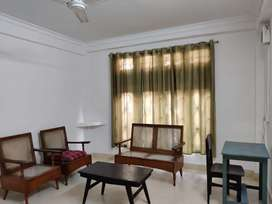 Available for rent house at Lachit Nagar semi furnished house