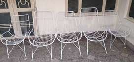 Five Iron chairs