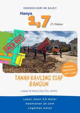 Tanah murah di Bandung aman terpercaya