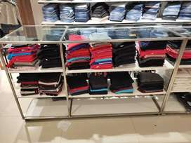 Counters for readymade garments