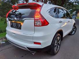 Honda crv prestise 2.4 at 2015/2016 putih km 42rb