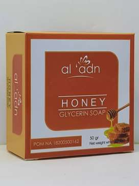 sabun wajah madu honey soap al adn