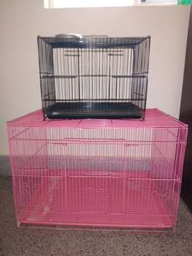 Puppy cages