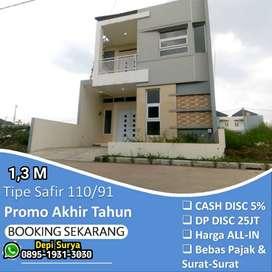 Rumah Kiarasari Bandung dkt Kiaracondong Buahbatu Lux murah Ready stok