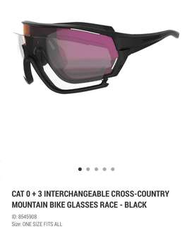 RockRider cat 0+3 interchangable Glasses