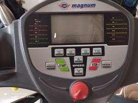 Magnum Single handed less used Treadmill