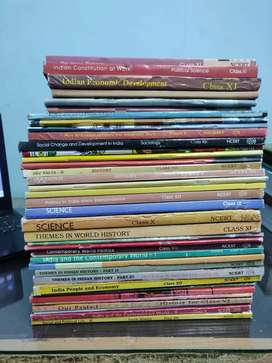 NCERT Books (6-12) for UPSC + Question bank (Pre+Mains)