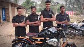 Full experience bike mechanic require in Bhubaneswar