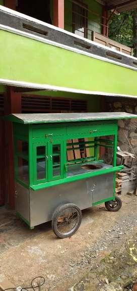 Dijual gerobak  bakso&mieayam