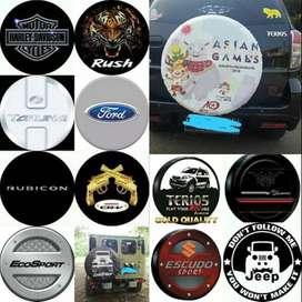 Cover/Sarung Ban Ford Everest/Rush/Terios/Panther/CRV--JEEP Makanya Bu