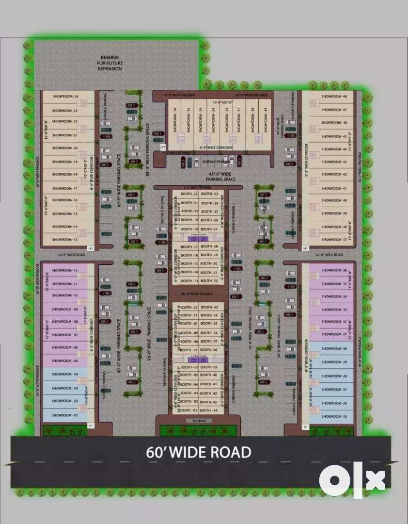 Get Commercial Plot and booths availble in zirakpur vip road 0