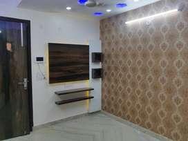 2 bhk builder floor ,90% bank loan