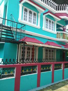 1550sq. Ft semifurnished house at PUNKUNNAM, THRISSUR