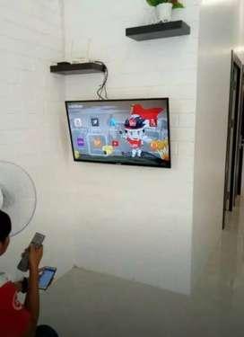 Bracket LED TV+PASANG