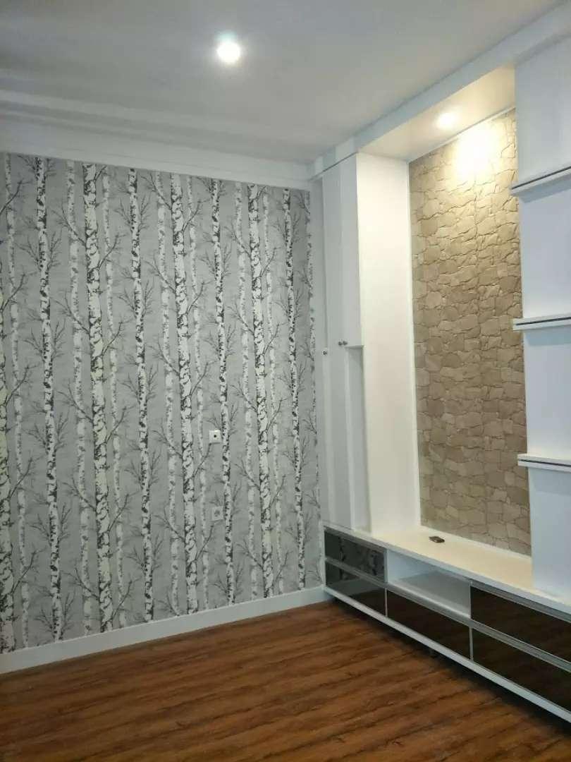 Wallpaper dingding & Vinyl lantai, corak minimalist