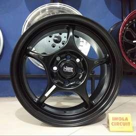 Jual velg mobil racing ring 15 HSR SENSEI R15 pcd 4x100 dan 4x114,3