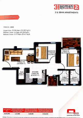 Ready 2bhk affordable homes sector 70