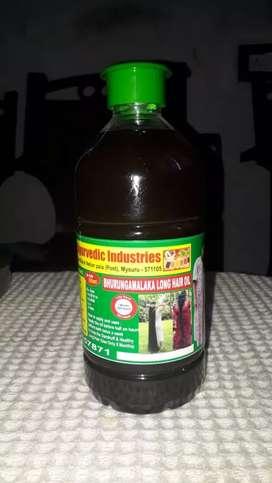 Ayurvedic neelambari hair long oil