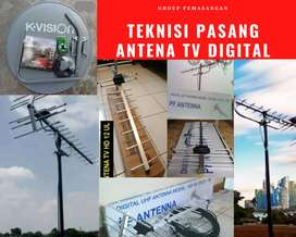 Instalasi Jasa Pasang Baru Antena Tv Digital