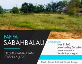 Tanah kavling murah Sabah balau
