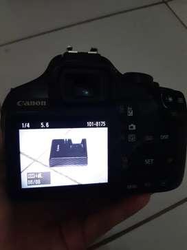 Kamera Canon 1100d kit 18-55m