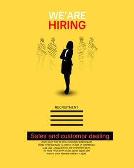 Sales and customer dealing