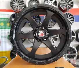 VELG MAMBA SUV OFF ROAD RING 20X9.0 PCD 6X139.7 ON TRITON FORD EVEREST