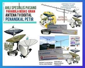Spesialis pemasangan parabola dan antena TV digital