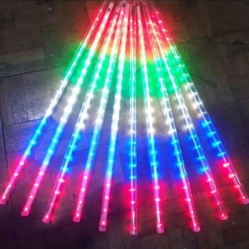 Lampu Hias LED METEOR 50cm 10 Batang Murah Berkualitas