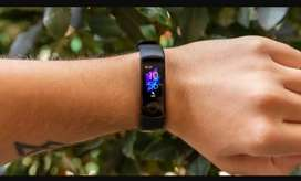 Honor Smart Fitness Watch Band 5 For Mobiles : Black Color