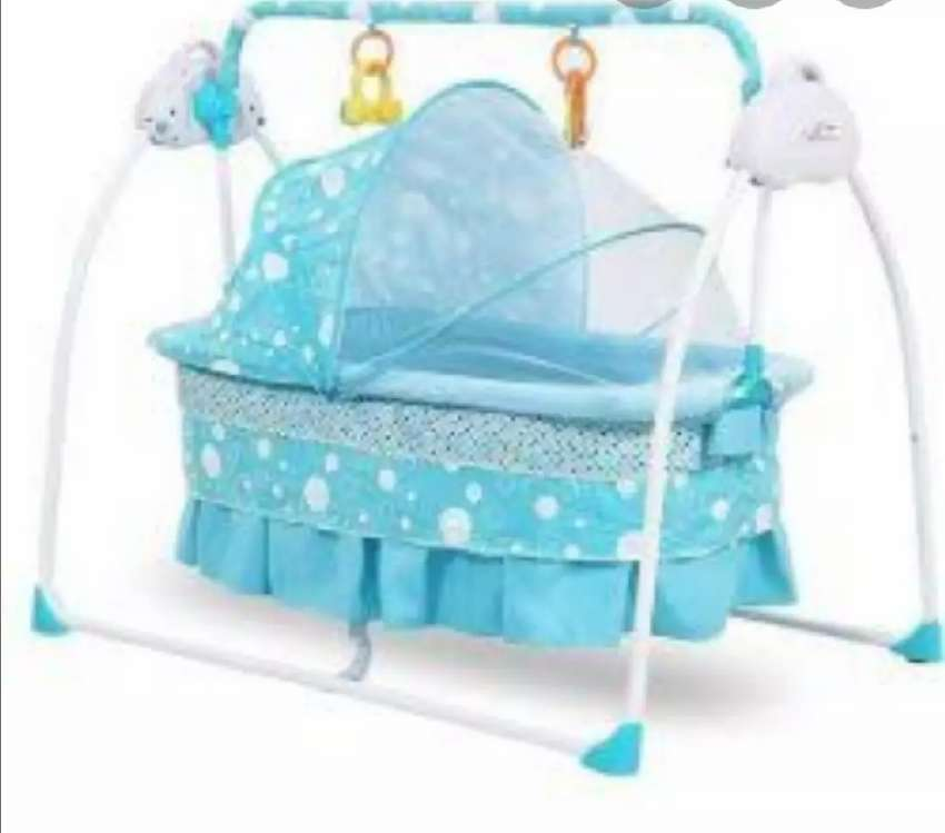 Baby electric & battery swing bed. 0