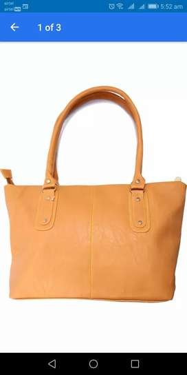 Bulk Stock Rich quality PU leather handbags available