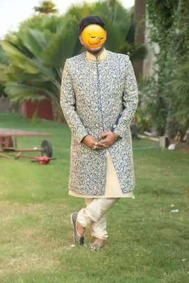 Shervani for marriage