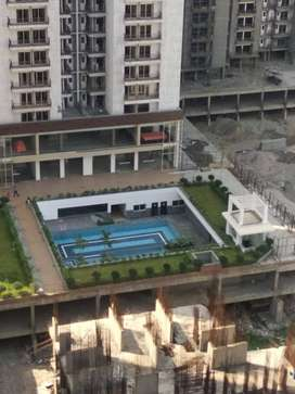 2 BHK + study Semi furnished flat on rent in Ajnara Homes