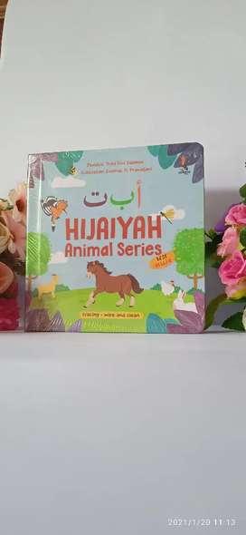 Buku Hijaiyah Animal Series