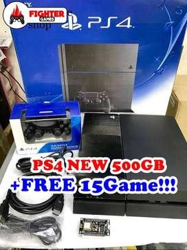 [BARU] PS4 500GB +PLUS FULLGAME bisa pilih game sendiri