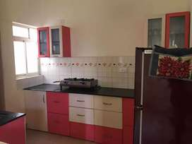 Bachelor accommodation in 2bhk fully furnished apartment in verna