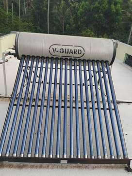 V Guard solar water heater 100 lPD capacity